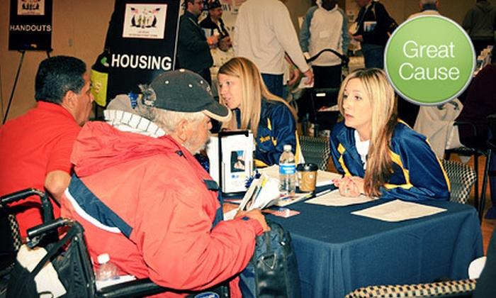 U.S.VETS – Las Vegas - Downtown: $9 Donation to Help Provide Linens to Veterans