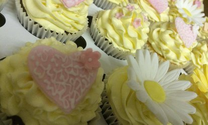 image for Choice of 72, 96 or 144 Bespoke Wedding or Party Cupcakes from Cupcakes 2 Love