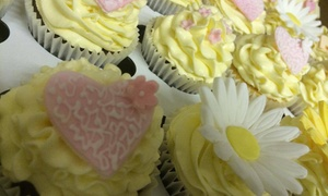 Cupcakes 2 Love: Choice of 72, 96 or 144 Bespoke Wedding or Party Cupcakes from Cupcakes 2 Love