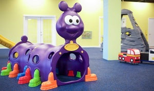 Giggles Indoor Play Center llc: 3, 6, or 10 All-Day Play Passes or Party for Up to 8 at Giggles Indoor Play Center LLC (Up to 46% Off)
