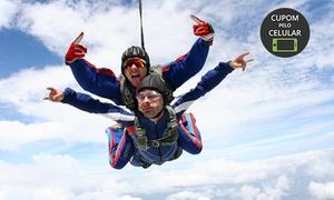 Vertical Speed Paraquedismo: Vertical Speed Paraquedismo – Santa Lucia: salto duplo para 1 ou 2 pessoas – parcele sem juros