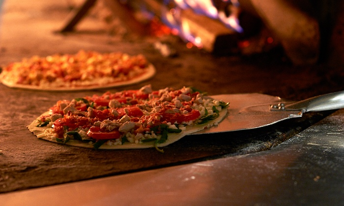 Brixx Wood Fired Pizza - Athens-Clarke County unified government (balance): Pizza, Sandwiches, and Pasta at Brixx Wood Fired Pizza (40% Off). Two Options Available.