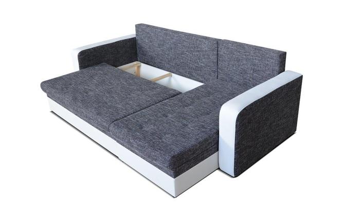 Centaur hoek slaapbank groupon - Plaid voor sofa met hoek ...
