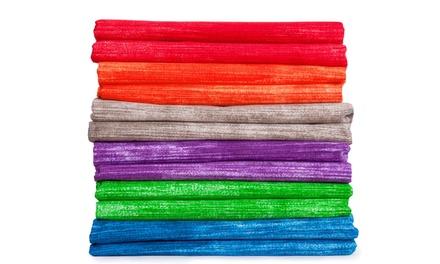 Copridivano in cotone disponibile in 2 dimensioni e vari colori
