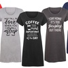 Women's Printed Nightshirts