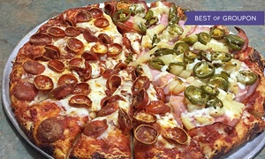 Mountain Mike's Pizza: $30 for Two Large Pizzas at Mountain Mike's Pizza ($53 Value)