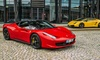 Ferrari: jazda po drogach