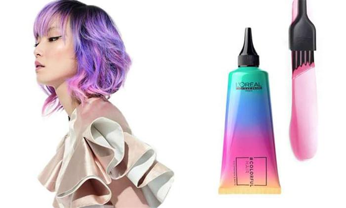 Colori capelli vivaci
