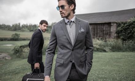 1 costume sur-mesure avec une chemise ou retouches illimitées en option dès 229 € chez Tailored Suit Paris