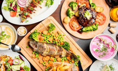 Two-Course Meal with Drink for Two or Four at Opera Restaurant, Leytonstone (Up to 59% Off)