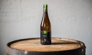 Urban Farm Fermentory: Cider- and Kombucha Tasting with Growlers for Two or Four at Urban Farm Fermentory (Up to 52% Off)