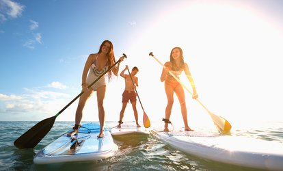 90-Minute Paddleboarding Session for One, Two or Four at Harbour Challenge