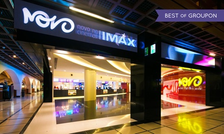 AED 100 Toward Tasleeh Shooting or Two Novo Cinema Tickets, Food and Drinks at The Mall at World Trade Center (50% Off)