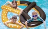 Giant Inflatable Pretzel Float: Giant Inflatable Pretzel Float