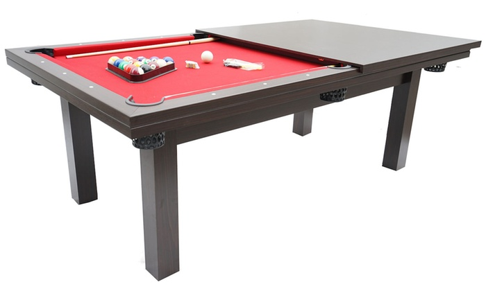 billard am ricain convertible groupon shopping. Black Bedroom Furniture Sets. Home Design Ideas