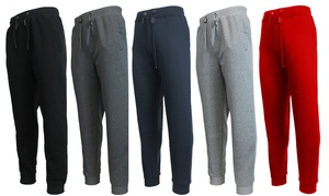 Galaxy By Harvic Men's Slim Fit Fleece Jogger Pants at Galaxy By Harvic Men's Slim Fit Fleece Jogger Pants, plus 9.0% Cash Back from Ebates.