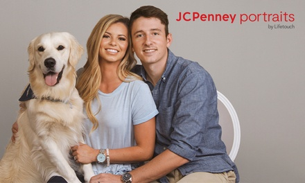 groupon.com - Family & Pet Photo Session at JCPenney Portraits (Up to 89% Off). Four Options Available.