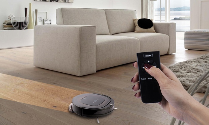 aspirateur robot et laveur groupon. Black Bedroom Furniture Sets. Home Design Ideas
