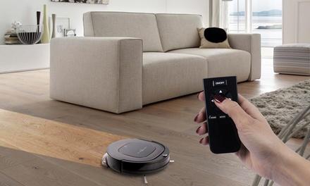 Aspirateur robot et laveur sols durs, tapis et moquette (SaintEtienne)