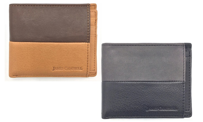 4832b02853b Up To 71% Off on James Campbell Men s Wallet