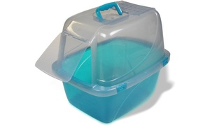 Van Ness Large Translucent Enclosed Cat Pan