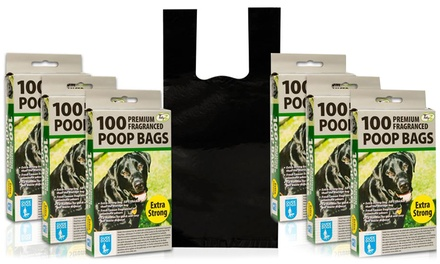 100, 300 or 600 TidyZ Fragranced ExtraStrong Pet Waste Bags