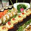3-Gänge-Sushi-Menü mit Drink