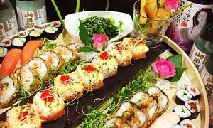 QQ-Fusion: 3-Gänge-Sushi-Menü inkl. Begrüßungsgetränk für 2 Personen bei QQ-Fusion (50% sparen*)
