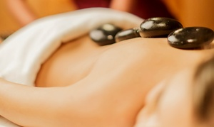 Sam's Spa: 60- or 70-Minute Massage with Double or Quadruple Hot-Stone Treatment at Sam's Spa (Up to 64% Off)