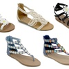 OMG Ankle-Strap Fashion Flat Sandals