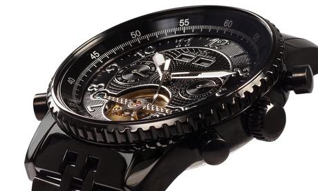 Relojes automáticos con cristal de zafiro de la marca suiza Hindenberg