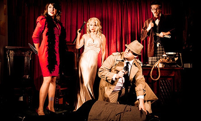 The Murder Mystery Company - Cafe Unique: Dinner Show for One or Two from The Murder Mystery Company (Up to 52% Off)