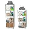 Space-Saving Steel Wire-Shelving Storage Unit