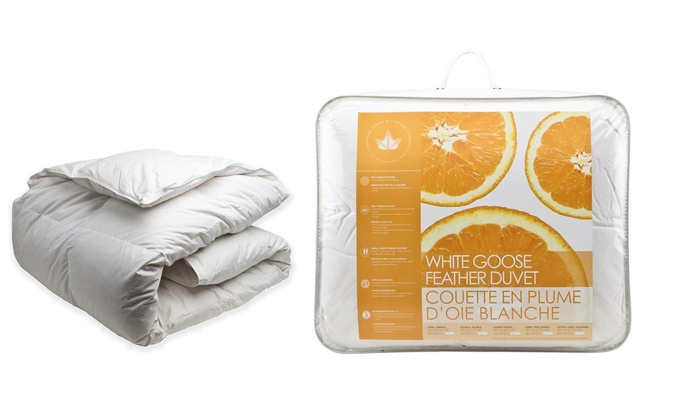 White Goose Feather Comforter