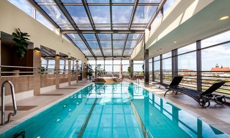 Cracovia: habitación doble estándar para 2 personas con desayuno, bienestar y crucero en el hotel 4 * Qubus