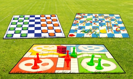 One or Three Giant Garden Game Sets