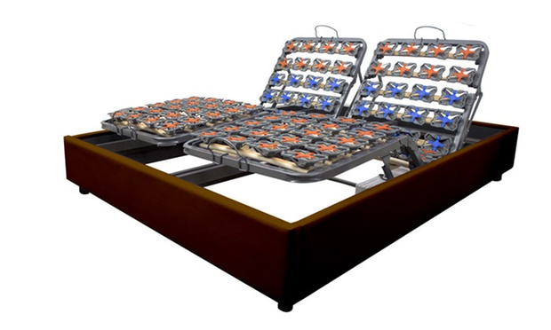 sommier lectrique et matelas groupon. Black Bedroom Furniture Sets. Home Design Ideas
