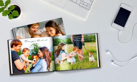 Hasta 5 fotolibros tapa dura fotográfica A4 de 100 pág. con Printerpix (hasta 93% de descuento)
