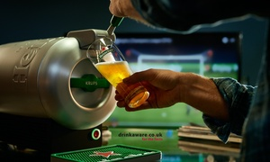 Heineken: £113.98 Voucher Code Towards Heineken Home Draught System Including Two Limited Edition Champions League Glasses