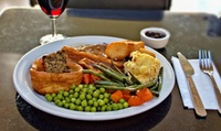 Three-Course Sunday Roast for One or Two at Weston Beach Cafe
