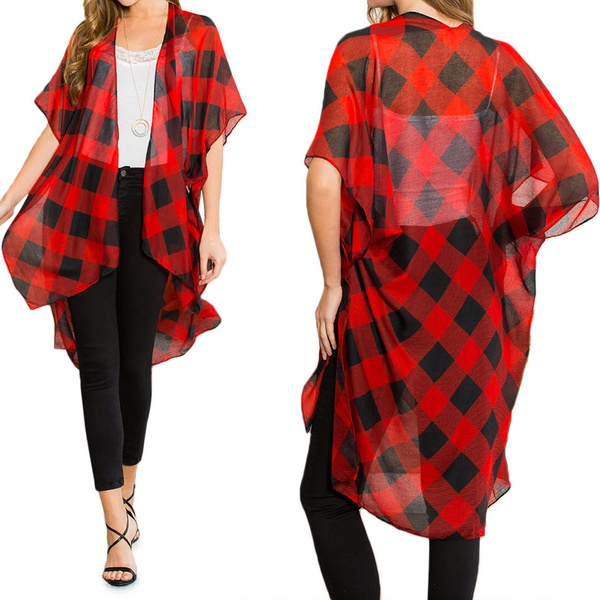85987d76c Up To 40% Off on Women's Patterned Dolman Kimono | Groupon Goods