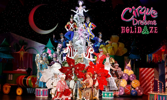 Cirque Dreams Holidaze November 17december 28