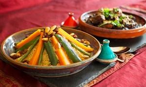 La Kabylie: Couscous aux boulettes de bœuf pour 2 personnes à 21,90 € au restaurant La Kabylie