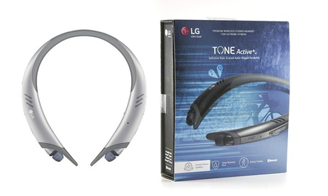 LG Tone Active+ HBS-A100 Bluetooth Wireless Earbuds with Dual Microphones photo