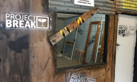 Axe Throwing for One $22, Two $42 or Four People $79 at Project Break Up to $116 Value