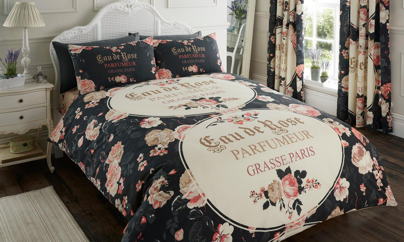 easy-care duvet cover set