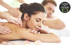 Nutrilife Brasil - Funcionários: Nutrilife Brasil – Funcionários: 4, 8 ou 12 visitas com massagem relaxante e drenagem