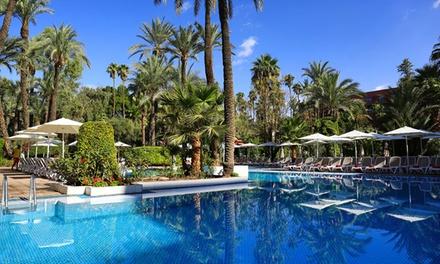 Marrakech : 1 à 9 ou 14 nuits, formule petit déjeuner ou tout compris, accès piscine au Kenzi Farah 5* pour 2 ou 3 pers.