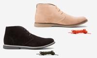 Oak and Rush Mens Chukka Boots (Chestnut)