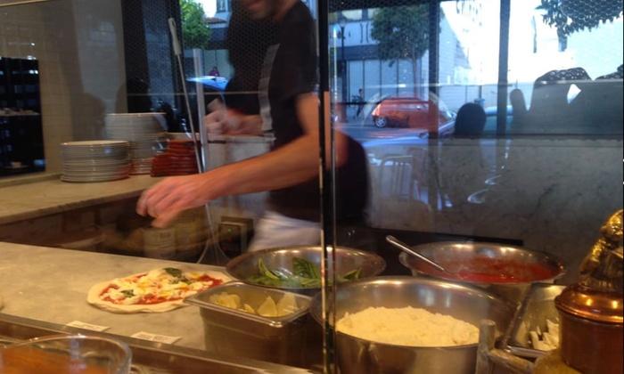 Neapolitan Pizza And Pasta Farina Pizza Livingsocial